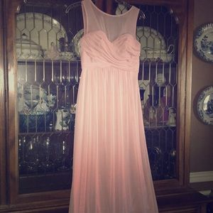 Dusty Pink David's Bridal Prom Gown 6